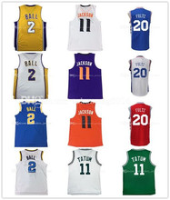 11 Josh Jackson Basketball Jersey  men's 2017 Draft  UCLA  Ncaa college Fultz Tatum Ball FOX Jerseys Embroidery 100% Stitched
