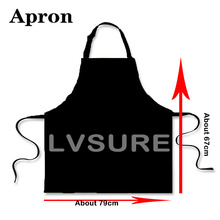 Personalized Chef Aprons Sleeveless Restaurant Kitchen Bib Aprons Printing Your Own Picture Logo 79*67cm