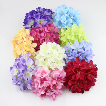11cm Large Hydrangea Head artificial silk hydrangea flowers accessory home wedding decoration  20pieces/lot