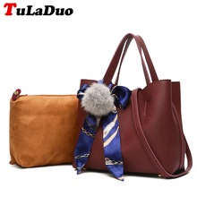 Designer Scarves Shoulder Bucket Bags For Women Fashion Pu Leather Handbags Shoulder Bags Casual Female Tote Bag Small Composite(China)