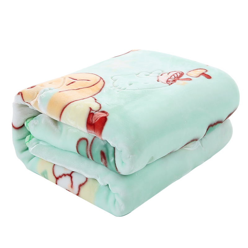 Super Soft Baby Blanket Autumn Winter Cartoon Thickening Warm Newborns Swaddle Wrap Air Conditioning Blanket Receiving Blankets<br>