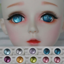 BJD Toy Eyes Acrylic Doll Eyes Half Round Eyeball Doll Accessories 1 Pair 12mm 14mm 16mm 18mm 20mm 1/3 1/4 1/6 1/8