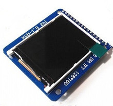 NoEnName_Null 1.8 inch TFT LCD Display Module with PCB Board ST7735R Drive IC SPI Serial Interface 4 IO 128*160