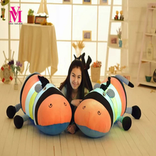 45cm Colorful LED Glowing Donkey Hippo Luminous Plush Children Toys For Girl,Night Donkey Pillow Animal Stuffed Plush Toys WJ449