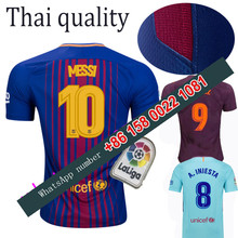 2017 2018 Barcelonaes jersey 17 18 Home Away football camisetas Thai AAA shirt survetement football Soccer jersey(China)