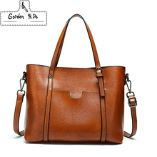 Women Bags Patent Leather Vintage Shoulder Bags PU Tote Brand Zipper Solid Female Ladies Handbag Womens Retro Satchels GX0109(China)