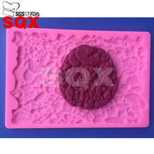 Stone shape Molds Chocolate Silicone Molds Cake Mold FDA Approved Bakeware Fondant Silicone Candy Pastry Tools MR86