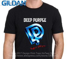 Unisex Fashion T Shirt Gildan Short Sleeve Men Zomer Deep Purple Perfect Stranger 84 O-Neck T Shirts