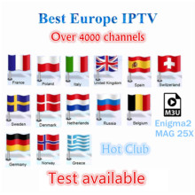 IPTV Europe Scandinavian French hot xxx Albania Sweden Arabic Italy Germany Israel 1 year IPTV Android SmartTV M3U MAG25X iptv(China)