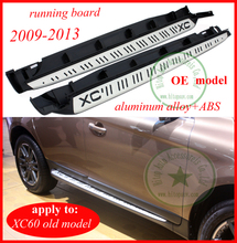 Thicken running board side step nerf bar for Volvo old XC60 2009 210 211 2012 2013,guarantee quality,rest assured to buy(China)