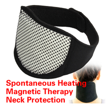 Magnetic Therapy Neck Spontaneous Heating Headache Belt Neck Massager HB88(China)