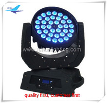 Free shipping professional led stage light lot 36x10w rgbw 4-in-1 dmx led moving head lights led wash moving head