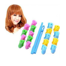New 18Pcs/set magic hair roller hairdressing tools diy manual curlers thread form big waves snail curls curly hair styling tool