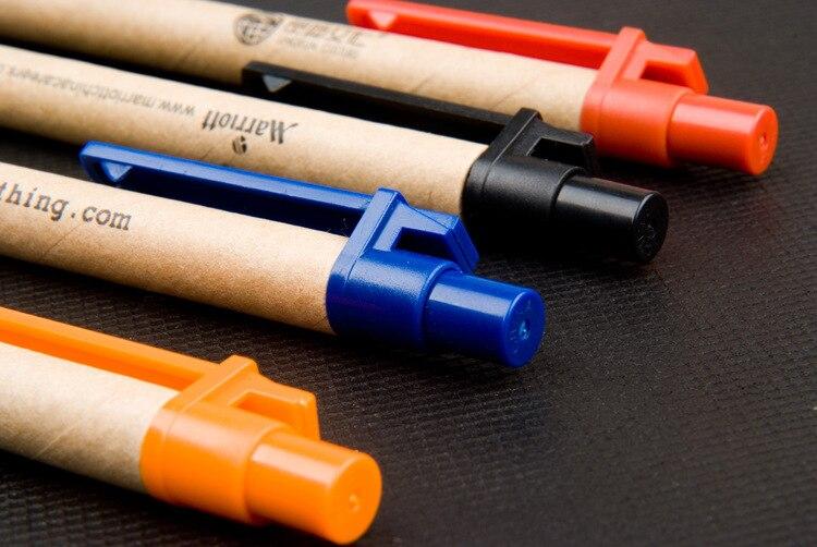50pcs-lot-Eco-paper-pen-platic-clip-green-concept-environmental-friendly-ballpoint-pen-wholesale-customized-promotion (1)