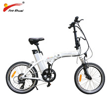 "Electric Folding Bike 20"" BAFANG Motor Wheel 36v 250W Shimano 6 Speed 36V 10AH LITHIUM Battery Portable adult Electric Bicycle(China)"