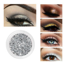 Color Salon Natural Glitter Eye Shadow Shimmer Make Up Powder Eyeshadow Pigment Highlighter Makeup Palette Brand Cosmetic