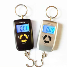 45kg 5g Pocket LCD Electronic Hanging Hook Fish Scale Double Precision Digital Kitchen Food Scales Weight Balance(China)