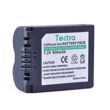 Tectra 1PC CGA-S006 S006A CGR-S006E DMW-BMA7 Battery for Panasonic Lumix DMC-FZ7 FZ8 FZ18 FZ28 FZ30 FZ35 FZ38 FZ50