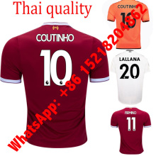 Liverpooles Short sleeve Adults Jersey Camisa Shirt Camiseta Maillot Citys Free Shipping(China)