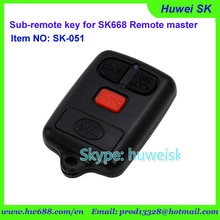 SK051 BYDModel 434MHz No. A fixe code copy remote for SK668 remote master/lock smith tool/digital counter remote(China)