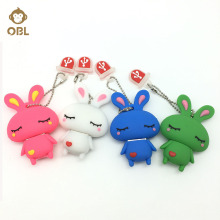 Flash Disk USB Stick Pendrive Memory Stick Storage Cartoon Cute Rabbit USB Flash Drive 128GB 64GB 32GB 16GB 8GB 4GB Pen Drive