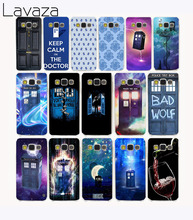 Lavaza 544CA door 221B Telephone Box Hard Case Cover for Samsung Galaxy S6 S7 S8 edge Plus S2 S3 S4 S5 Mini case cover(China)