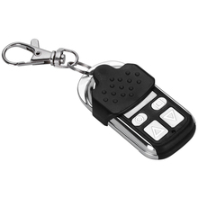 Smart Home Appliance 4-Channel Garage Door Controller Wireless Remote Control Keyring Anti-Lost Alarm Control Keychain