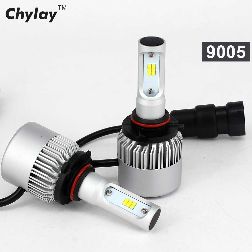 72W Car Light Bulb H4 Led Headlight H11 H7 H1 H3 9005 9006 6500K xenon white CSP Chips Automobiles Headlamp