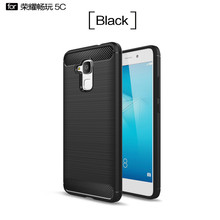 Five color options For Huawei Honor 5C Case Honor 7 Lite Cover Soft Anti-Skid Casing Carbon Fiber Phone Case For Huawei Honor 5C