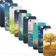 5C Hot Painting Dark Clouds Fresh Tea TPU Cover For Apple iPhone 5C Cases Case For Phone5C Phone Shell 2016 Top Fashion best Hot(China)