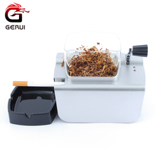 GERUI 8mm Cigarette Rolling Machine Electric Automatic Cigarette Rolling Machine Tobacco Roller Maker Inject Tube For Smoking(China)