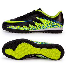 New Men's Kids Soccer Indoor Shoes TF Turf Soccer Cleats Boy Football Trainers Sports Shoes All Size EU 33--44