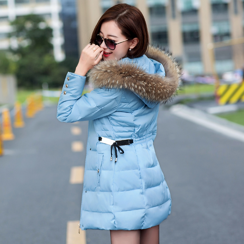 2016 wadded jacket female medium-long cotton-padded jacket winter New slim paillette Warm cotton-padded jacket outerwear femaleÎäåæäà è àêñåññóàðû<br><br>