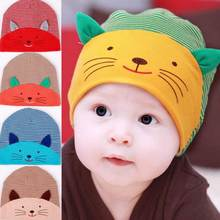 Newborn baby photography props cute toddler infant beanie bee cat baseball cap cotton kids hat baby bonnet(China)