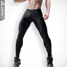 Aimpact New Fashion Men's Sexy Tight Pants Slim Fitted Active Pants Crossfit Sweatpants Elastic Fitness Men's Workout Pants AM18
