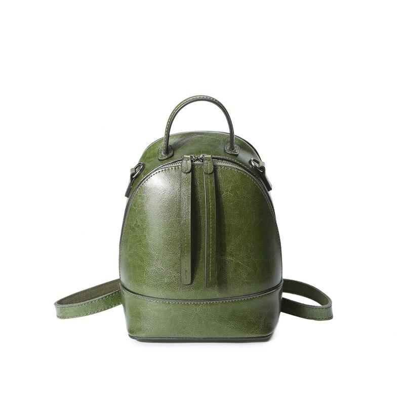 LIHONGBAOBAO brand fashion backpack women leather genuine backpacks for teenage girls Korean Style multifunctional shoulder bags<br>