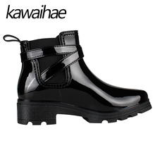 women shoes booties women rubber shoes rain boots PVC rain boots buckle boots galoshes casual boots ringed shoes mujer boots boots of the rain women's boots with heels Snow Boots Motorcycle boots Chelsea Boots Rubber shoes women Rubber shoes martens boots(China)