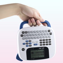 high quality new JC-114 handheld portable labeling machine home office notes barcode label printer built