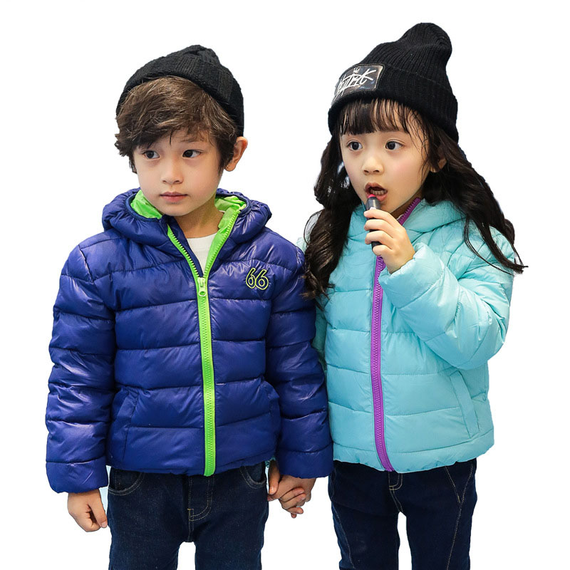 Hot Sale Hooded Kids Girls Boys 2016 Winter Coat Long Sleeve WindProof Children Fashion Warm Down Coat Outwear YY2067Одежда и ак�е��уары<br><br><br>Aliexpress