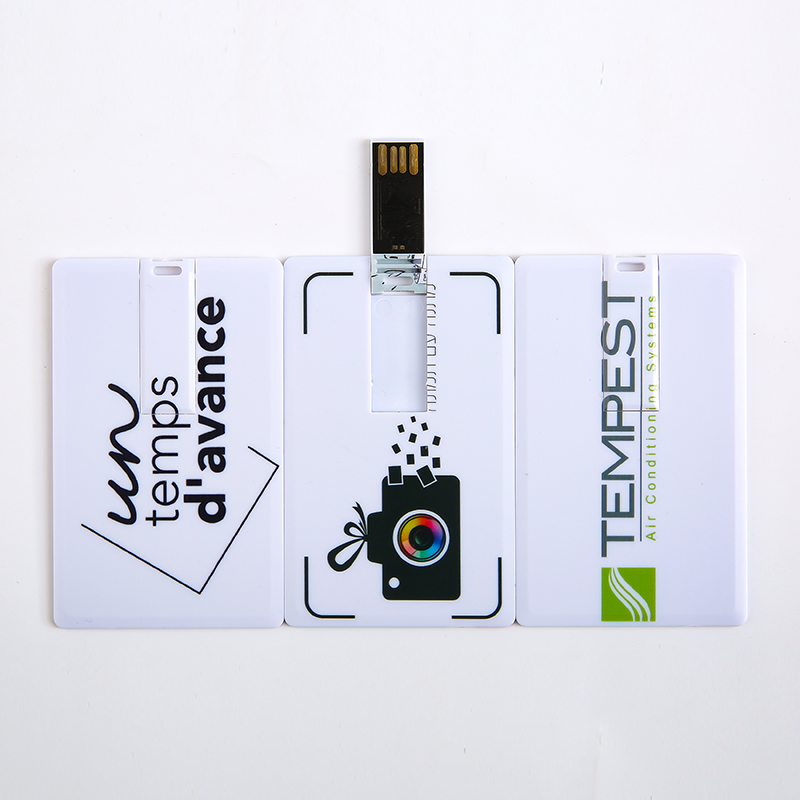 Credit Card USB Flash Drive 4G 8G 16G 32G Pen Drive Creative USB2.0 Memory Stick