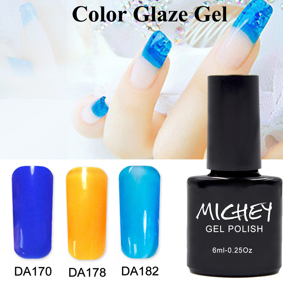 1PCS Eco-friendly Healthy Metallic Gel Nail Polish Soak Off Long Lasting Extension Glaze Color Gel Nail Art Design Free Shipping(China)