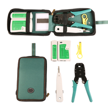 Buy Cable Tester Kit Ethernet Cable Tester Kit Crimp Crimper Pliers 5pcs/set RJ45 CAT5 Cat5e Connector Modular Plug Network Tool Set for $15.45 in AliExpress store
