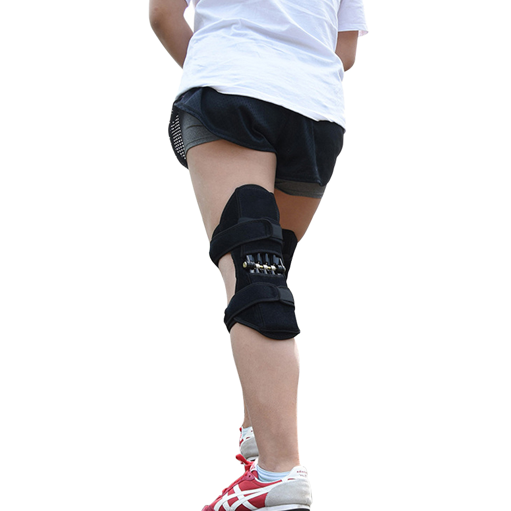 Footwear - Knee Protection Booster Power Support Knee Pads Powerful Rebound Spring Force Sports Reduces Soreness Leg Protection