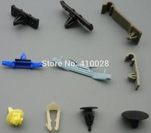 100pcs auto fasteners windshield  washer hose clip drip moulding clip  hood insulation retainer fuel line retainer clip