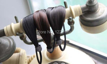 New Korean Synthetic Wig Hair Ponytail Holder Plaits Hair Rope Hair Band Rubber Hairband  Hair Accessories Wholesales