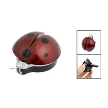 10X  New Dark Red Plastic Car Air Vent Ladybug Design Fragrance Purifier Freshner