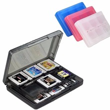 Insten 28-in-1 Game Card Case for Nintendo NEW 3DS / 3DS / DSi / DSi XL / DSi LL / DS / DS Lite Cartridge Storage Solution Box(China)