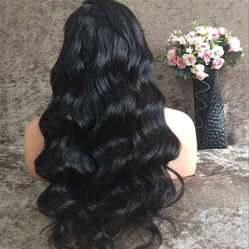 Brazilian Body Wave Human Hair Wigs Full Lace Human Hair Wigs for Black Women Glueless Full Lace Wigs With Baby Hair<br><br>Aliexpress