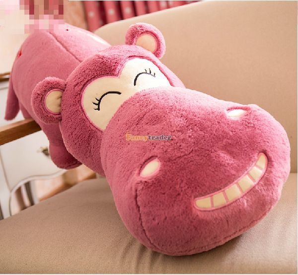 Fancytrader Novelty Toy! 47 / 120cm Jumbo Stuffed Soft Lovely LOVE Funny Hippo Toy, 4 Colors Available, Free Shipping FT50888<br><br>Aliexpress
