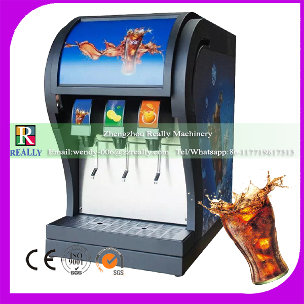 Commercial used 220v cold drink dispenser carbonated beverage filling machine soda canning machine(China (Mainland))